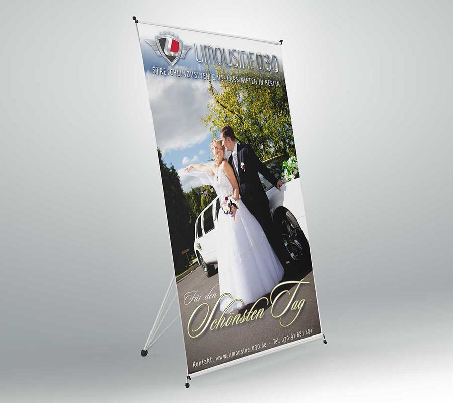 Banner Rollup Wedding
