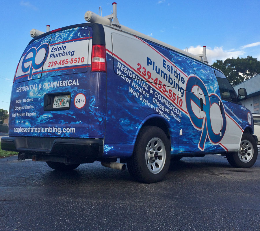 Car Wrap Estate Plumbing
