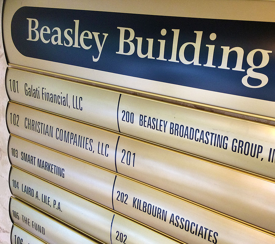 Directory Beasley Broadcast